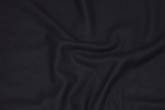 Black coat-wool with cashmere