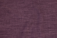 Ruggedly woven polyester in speckled heather-colored
