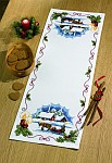 Permin 68-7598. Table deco with horse and sled.