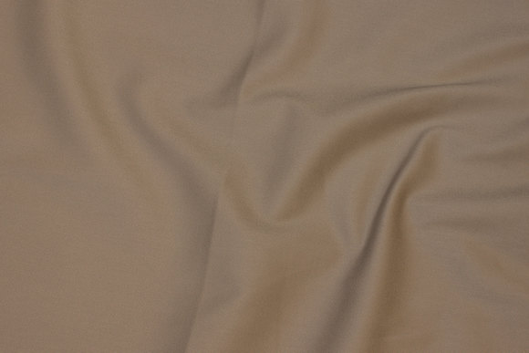 Sand-colored stretch-cotton-twill for pants