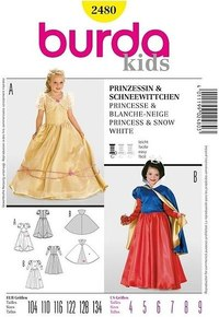 Snowhite or princess. Burda 2480.