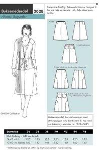 Pant-skirt. Onion 3028.