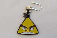 Angry birds chain in yellow