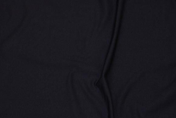 Black, lightweight sweatshirt fabric with elasthane