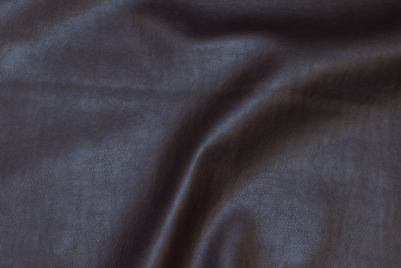Dark brown naturalistic, faux leather