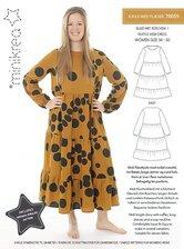 Flounce dress. Minikrea 70055.