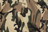 Rugged camouflage canvas
