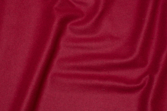 Woven wool red