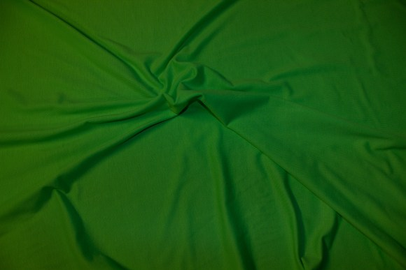 Strong green stretch jersey