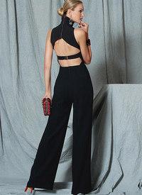 Vogue pattern: Open-Back, Banded Jumpsuit, Custom Fit
