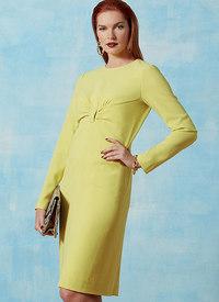 Vogue pattern: Gathered Front-Detail Dress, Claire Shaeffer
