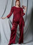 Handkerchief-Hem Tunics with Overlays, Shell, and Pull-On Skirt and Pants, Kayla Kennington