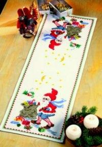 Permin 68-1225. Table decoration - Santa Claus helper with bag.