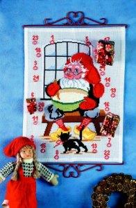 Christmas gift calendar - Santa Claus helper with stew