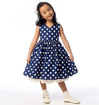 Children´s Girls´ Shrug and Dress. Butterick 6046.