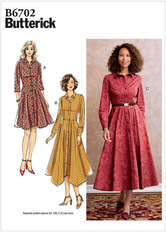 Dress. Butterick 6702.