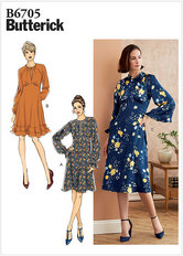Dress. Butterick 6705.
