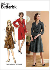Dress. Butterick 6706.
