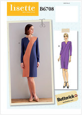 Dress. Butterick 6708.