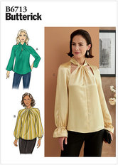 Top. Butterick 6713.