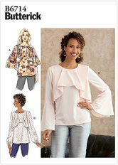 Top. Butterick 6714.