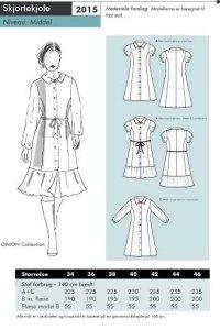 Shirt-dress. Onion 2015.