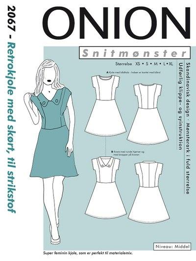 Retro dress with skirt