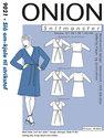 Wrap-around-dress for knits