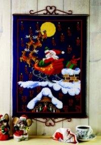Christmas gift calendar - Reindeer. Permin 34-1214.