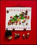Permin 34-8225. Christmas gift calendar - train.
