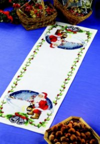 Table decoration - Santa Claus. Permin 68-2205.