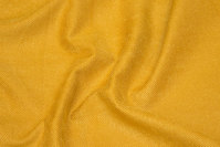 Brass-yellow soft stretch-twill for pants etc.