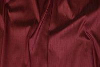 Eggplant-colored, faux thai silk in polyester