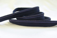 Elastic piping, navy