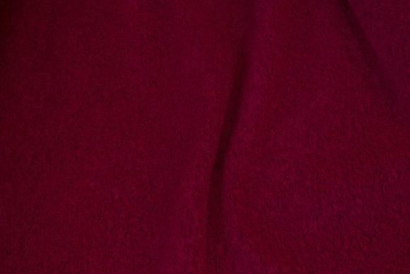 Felt wool in fuchsia-colored