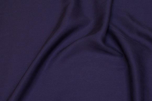 Lyocell-viscose blouse twill in navy