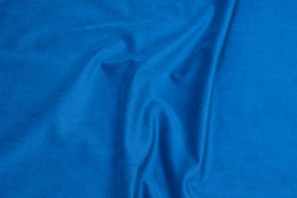 Smooth corduroy in petrol-blue