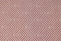 Elegant jacquard-woven table-cloth-fabric in bordeaux and light with ca. 10 cm leaf-pattern.