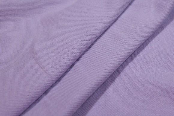 Light purple rib-fabric in classic good quality