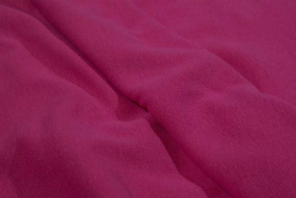 Pink rib-fabric in classic good quality