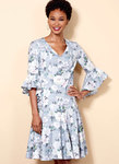 Or Miss Petite Paneled Dress