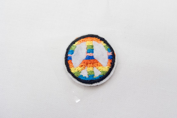 Peace patch 2cm