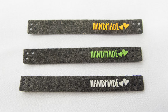 Handmade marks 8x1cm