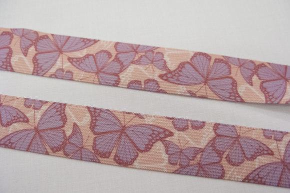 Elastic with butterflies 2,9cm