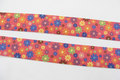 Red elastic with dots