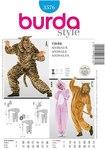 Burda 3576. Costumesuit, lion, bear, bunny.