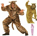 Burda 3576. Costumesuit, lion, bear, bunny.