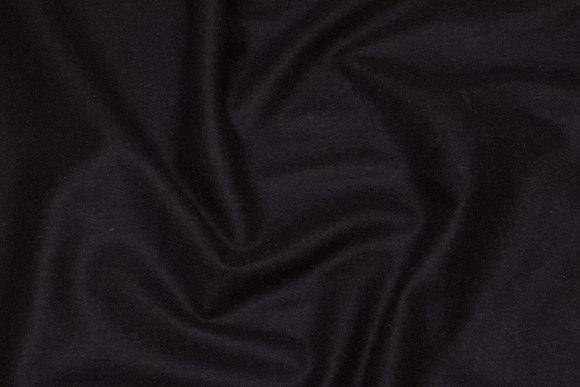 Dark brown wool flannel