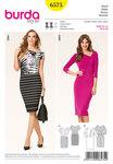 Dress, asymmetric with gathers