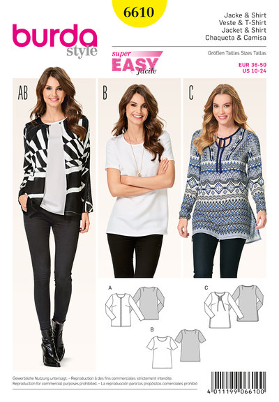 Jacket, Top, Tunic Top